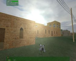 TerraTools Desert Village Screenshot from VBS2
